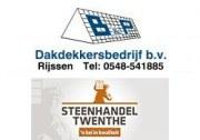 Logo B en P Dakdekkersbedrijf BV/Steenhandel Twenthe