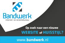 Advertentie van Bandwerk internet- en reclamebureau