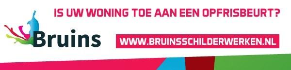 Advertentie van Bruins Schilderwerken
