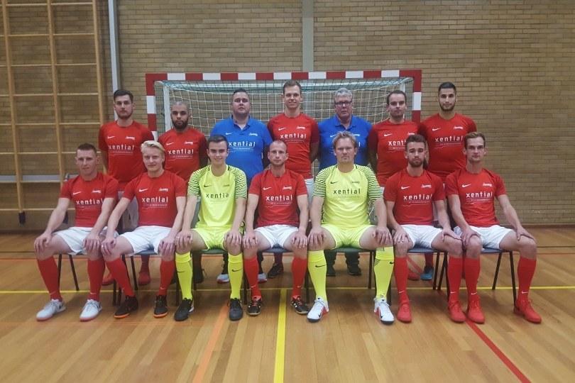 Foto bij Zaalvoetballers Excelsior'31 spelen thuis tegen Futsal Apeldoorn