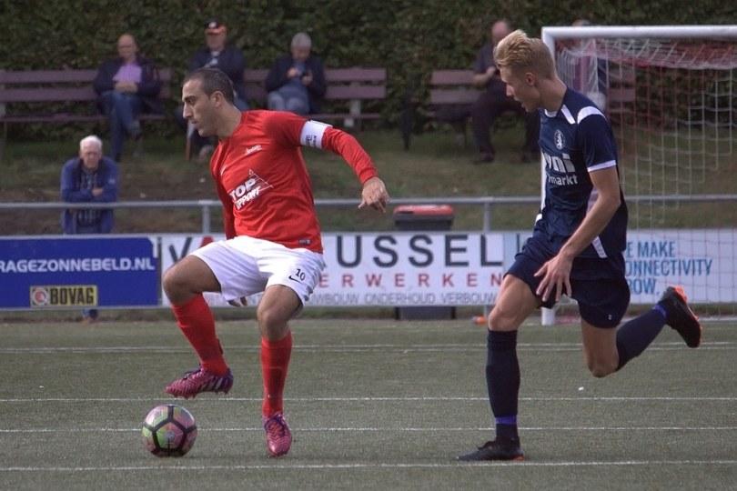 Foto bij Excelsior'31 pakt bonuspunt tegen AZSV in wedstrijd van Hoofdklasse onwaardig niveau (1-1)