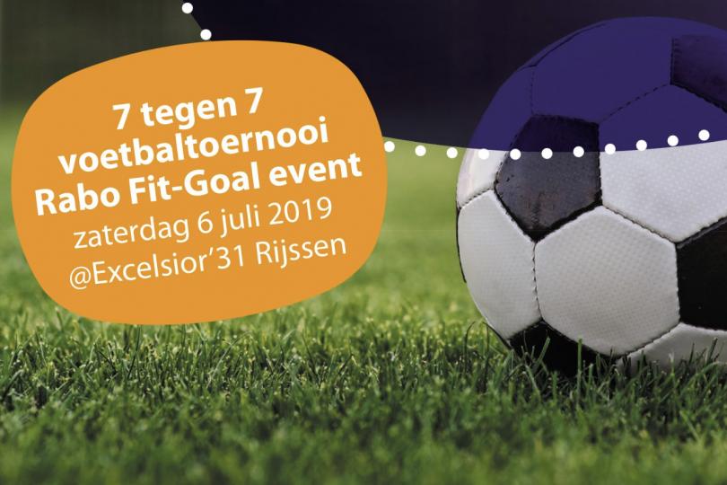 Foto bij Zaterdag 6 juli: Rabo Fit-Goal Event bij Excelsior'31