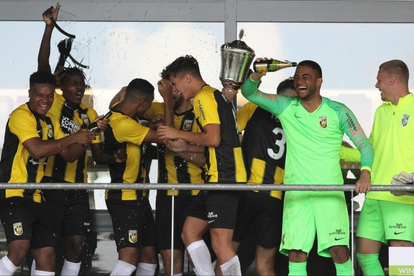 Foto bij Jong Vitesse wint zesde editie Fletcher TOP Toernooi