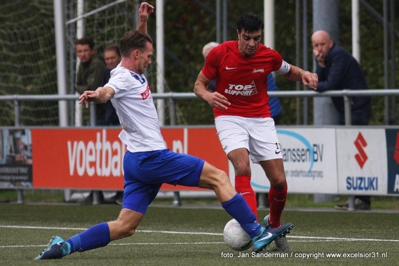 Foto bij Excelsior'31 wint van DEM en is dichtbij hoofdtoernooi KNVB Beker (2-1)