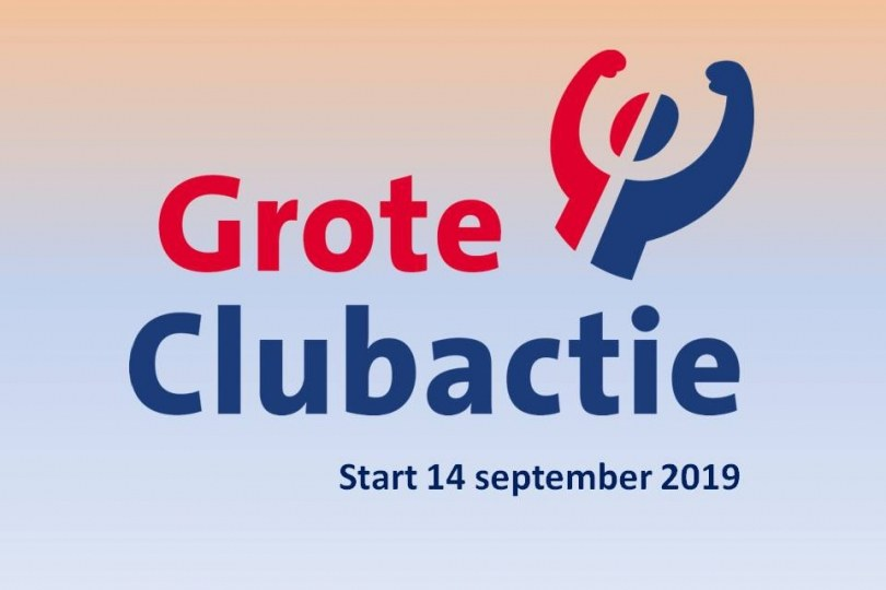 Foto bij Grote clubactie weer van start!