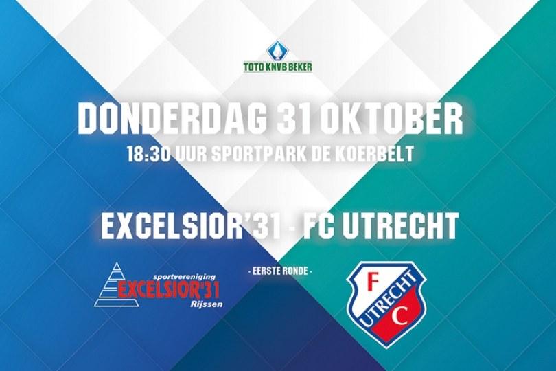 Foto bij Informatie voorverkoop kaarten Excelsior'31 - FC Utrecht