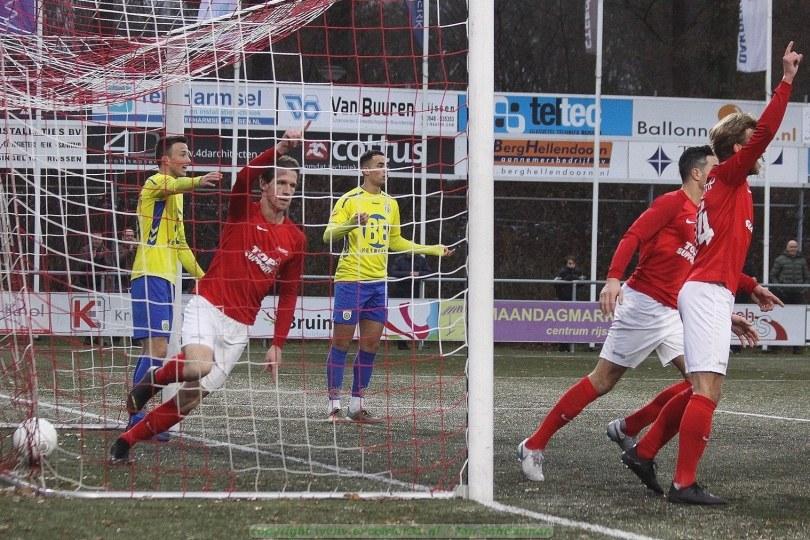 Foto bij Knappe comeback Excelsior'31 goed voor punt tegen FC Lisse (2-2)