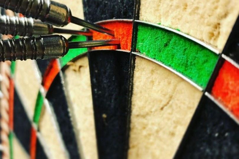 Foto bij Vrijdag 14 februari: Open single-darttoernooi
