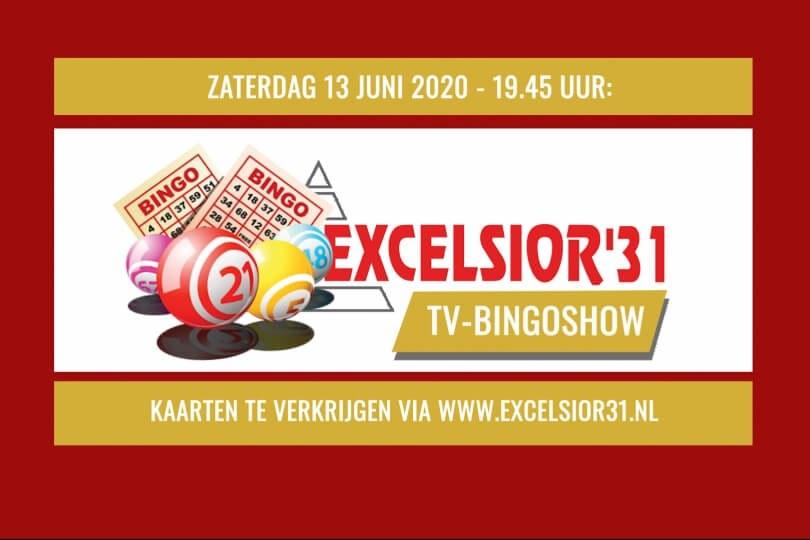 Foto bij Kijk terug: Excelsior'31 TV-Bingoshow