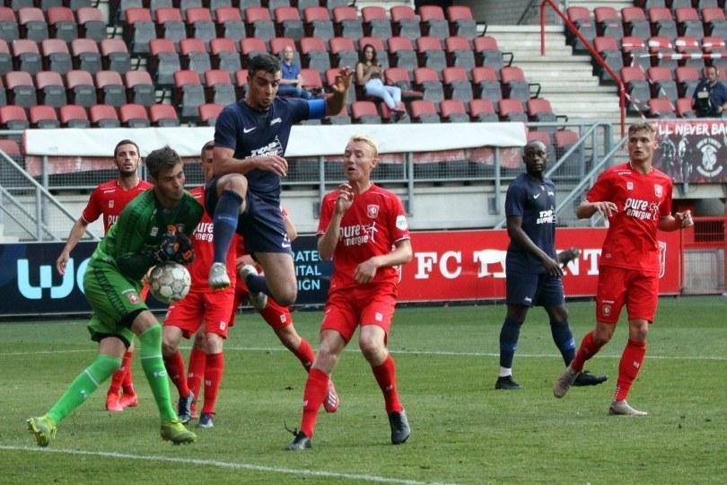Foto bij Excelsior'31 biedt goed tegenstand tegen FC Twente (3-1)