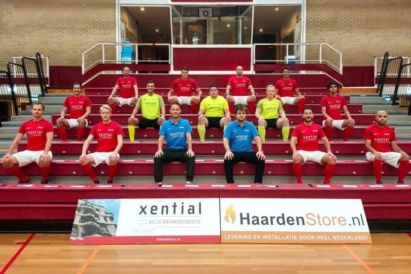 Foto bij Zaalvoetballers Excelsior'31 starten competitie met nederlaag