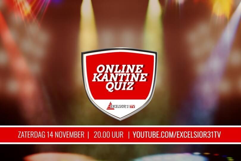 Foto bij Excelsior'31 TV Online KantineQuiz (opgave- en antwoordformulieren)