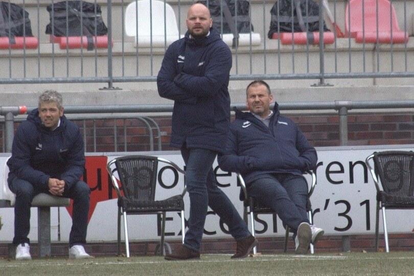 Foto bij Jurjan Wouda ook de komende twee seizoenen hoofdtrainer bij Excelsior'31