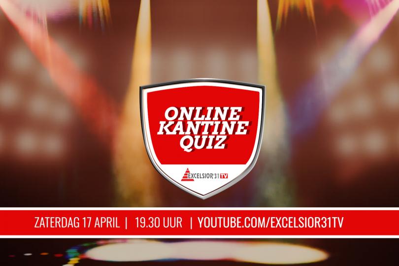 Foto bij Zaterdag 17 april: Excelsior'31 TV Online KantineQuiz (geef je nu op!)