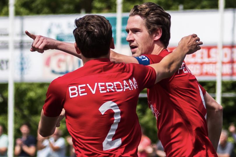 Foto bij Excelsior'31 speelt gelijk tegen HHC Hardenberg (1-1)