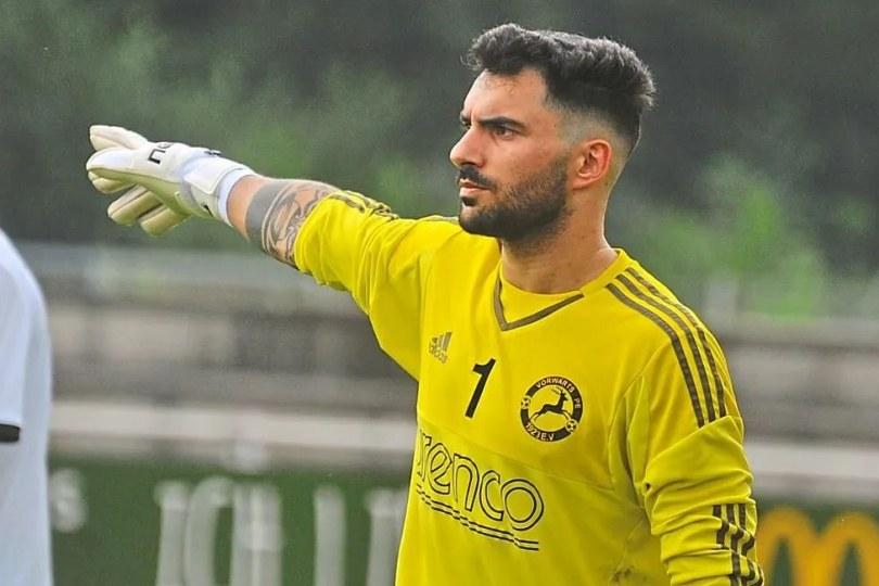 Foto bij José Fernandes nieuwe doelman Excelsior'31