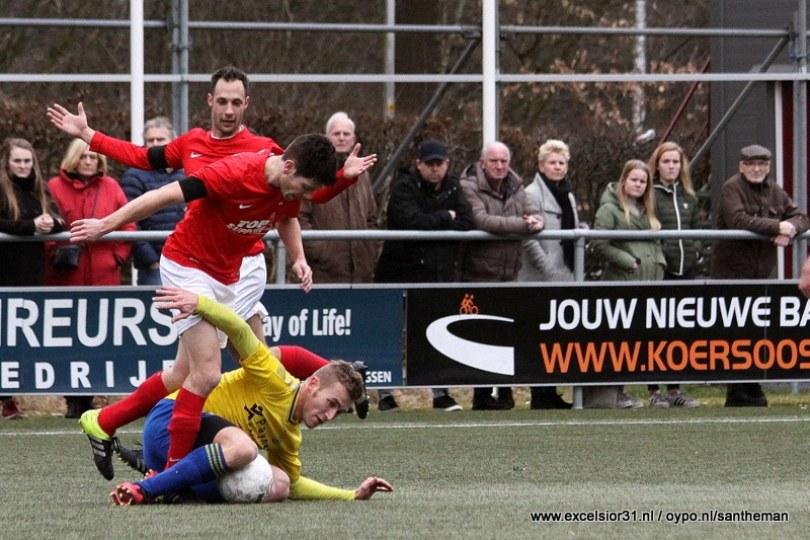 Foto bij Excelsior'31 laat Staphorst profiteren (2-3) (samenvatting geplaatst!)