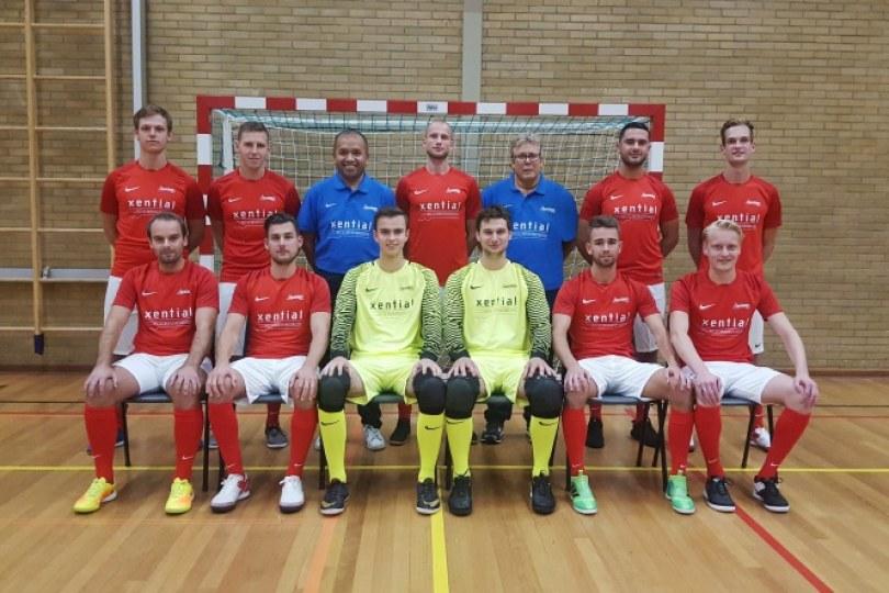 Foto bij Zaalvoetballers Excelsior'31 ingedeeld in 1e divisie B