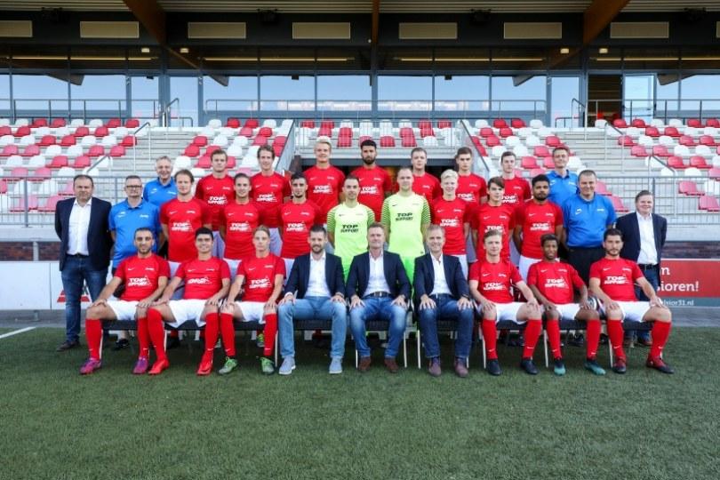 Foto bij Namen en rugnummers selectie Excelsior'31 1 seizoen 2018/2019